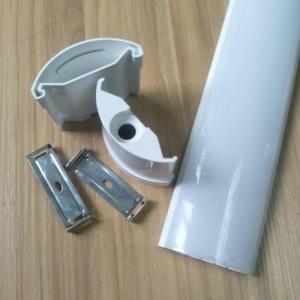 led三防灯外壳套件 pc塑料灯罩 灯饰灯具配件 挤出加工