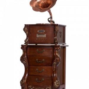 雨之巷仿留声机专卖美式色YZX1617欧式古典家居饰品
