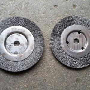 枣庄红碗毛刷轮 钢丝刷富林刷业机械配件