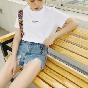 女装短袖T恤批发女士T恤批发女式T恤批发韩版女