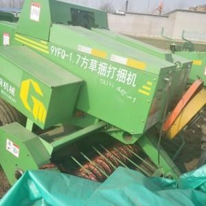 可露天存放干鲜秸秆打捆包膜机 草料裹包发酵农业机械青贮打包机