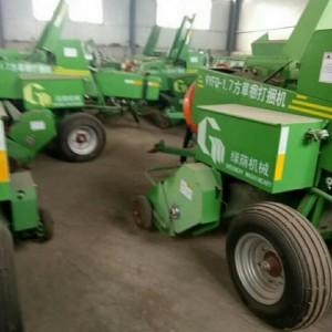 新型农业机械牧草打捆机 秸秆圆捆打捆机 青储草料加工打包机