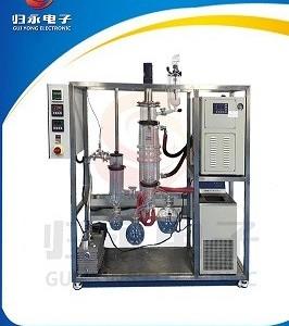 实验室用不锈钢短程分子蒸馏设备