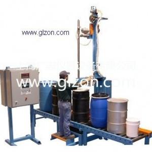 上海广志化工大桶液体自动灌装机