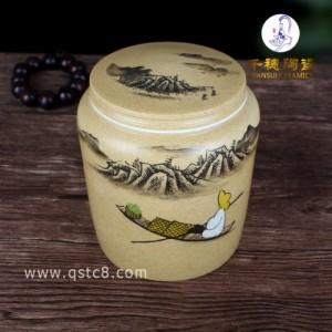 陶瓷罐礼盒装茶叶图片 陶瓷罐礼盒装茶叶厂家图片