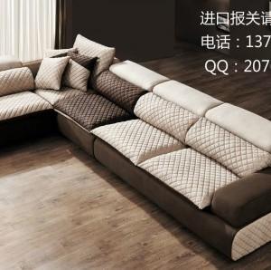 广州红木家具进口代理清关公司