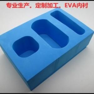 定制加工 植绒EVA内衬 玻璃瓶包装盒 五金工具泡绵内托