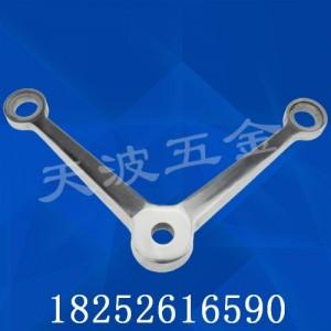 天波五金厂家定制 不锈钢驳接爪 K肋爪折弯爪 玻璃幕墙配件