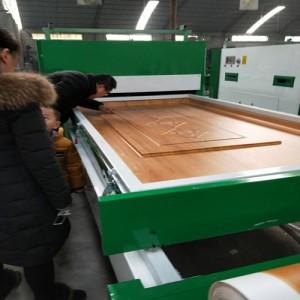 山东真空覆膜机制造商  专业制造真空覆膜机直销林木机械