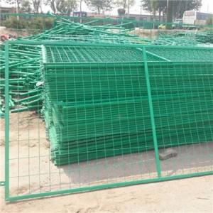 厂家直销铁丝网围栏 双边丝护栏网 供应防养殖护栅栏金属网片丝