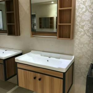 浴室家具 实木浴室柜 欧式浴室柜