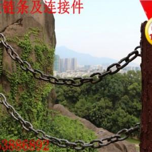 五金金属链条制造厂家 黑漆护栏链条随时发货