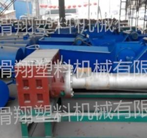 河南省滑翔废旧编织袋塑料颗粒机械设备