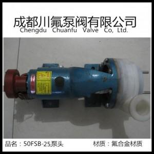 50FSB-25氟塑料合金离心泵用于制药汽车制造中的酸洗盐酸