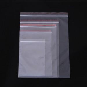 成都厂家定做透明***pe平口自封袋机器防尘塑料立体袋
