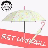 RST外贸出口晴雨伞幼儿园小学生可爱卡通直杆伞
