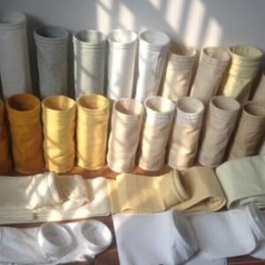 广东垃圾焚烧厂用除尘器布袋PTFE针刺毡除尘袋滤之杰厂家直销