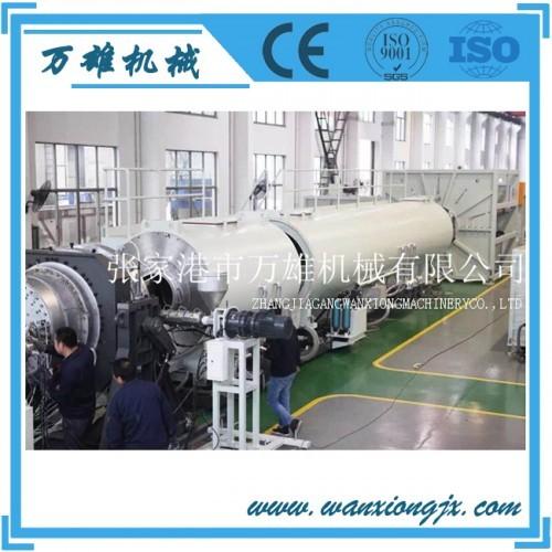 厂家直销苏州张家港PE供水管生产设备20-630