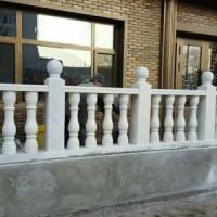 浩希雕塑石雕石桥汉白玉拱桥栏板装饰扶手荷花围栏阳台