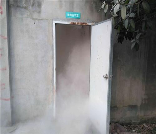 养猪场消毒设备_猪场消毒通道 猪场进场消毒通道设备