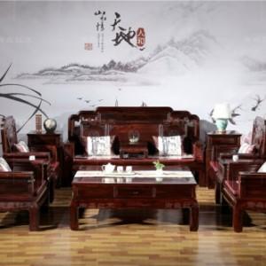印尼黑酸枝沙发-红木沙发-红木沙发价格-古典家具