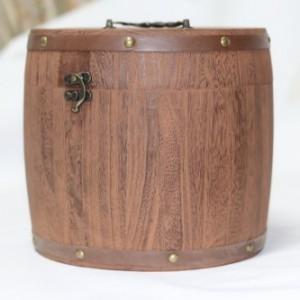 曹县厂家提供木质茶叶桶复古烧色普洱茶叶桶 现货批发茶叶包装盒