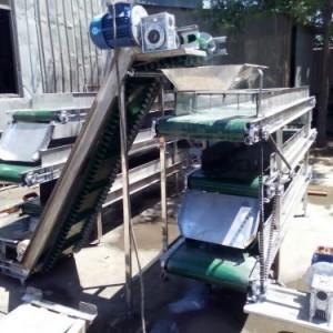 ***生产食品专用不锈钢输送机 食品包装输送机xy1