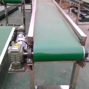 ***生产绿色流水线爬坡输送机 食品包装输送机xy1