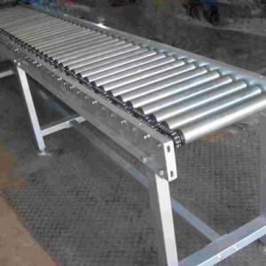 玉林自动化设备与包装机械 纸箱动力辊筒输送机铝型材