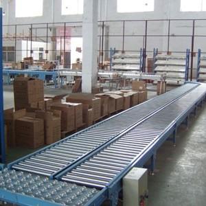 萧山自动化设备与包装机械 纸箱动力辊筒输送机