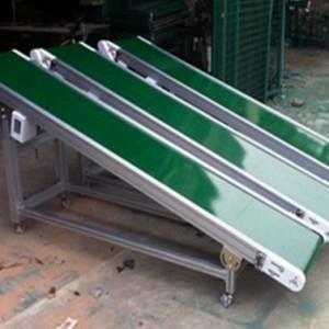 可调升降皮带输送机小型食品级输送机加工制作