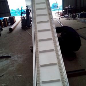 食品级pvc带式输送机z字型移动皮带机加工制作