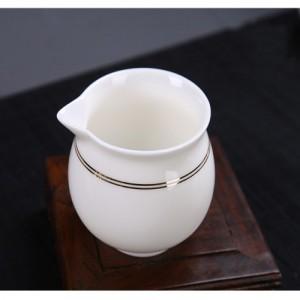 景德镇白瓷茶具送礼佳品陶瓷茶具套装