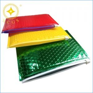 厂家定制气泡拉链袋 高档服饰包装袋 化妆品数码产品快递袋