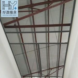 广东厚盈骏业电焊镀锌网片果园铁丝网钢筋网养殖围栏建筑碰焊网