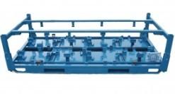 供应湖北汽车零配件制动鼓发动机金属托盘循环利用可定制