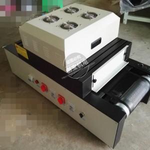 传送带桌面式uv胶油墨印刷台式紫外线隧道炉涂装烘干光固化机