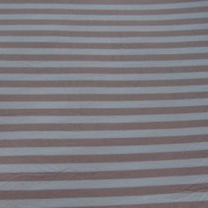 惠源 40s***棉条纹针织面料 婴幼儿服装内衣睡衣面料 柔软