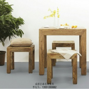 重庆中式禅意家具 重庆仿古榆木家具