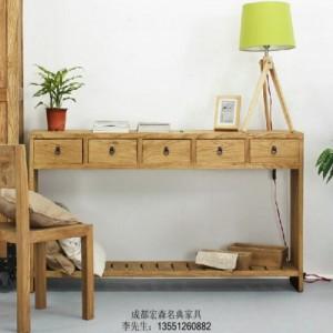 仿古楠木家具 新中式榆木家具