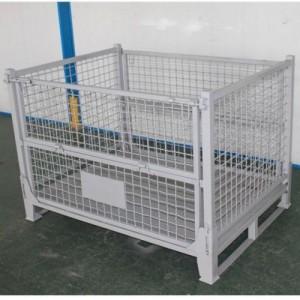 厂家直销汽车配件专用周转箱折叠蝴蝶笼高承重物流箱轴承仓储笼