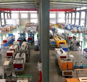 北京永创通达高速热收缩膜包机 易拉罐包装生产线YCBS80C