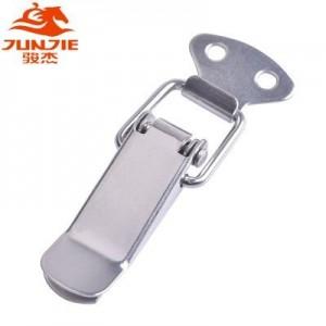 五金工具设备箱配件锁扣铁,不锈钢扁嘴弹簧搭扣J001