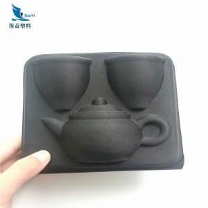厂家定做佳绩布陶瓷茶杯eva包装盒茶具保护套
