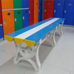 换鞋凳浴室澡堂洗浴中心健身房浴池浴室更衣凳长条凳塑料长条凳子