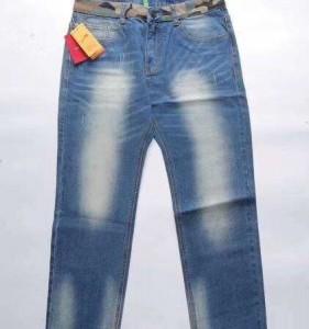 广州服装批发市场贵人鸟牛仔长裤瘦腿纤细厂家直批