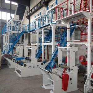 武汉德云机械厂家直销高速塑料吹膜机 快递袋吹膜机
