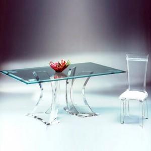透明有机玻璃桌子  制作加工各种桌子 凳子 家居产品 品质保