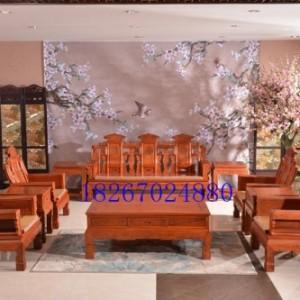 东阳市兴成红木家具有限公司沙发餐桌圆台办公桌大床