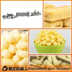 台湾米饼膨化机设备夹心米果生产线加工机械山东食品厂家直销